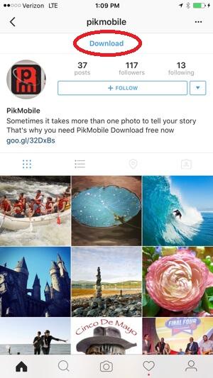 CTA instagram oglašavanje