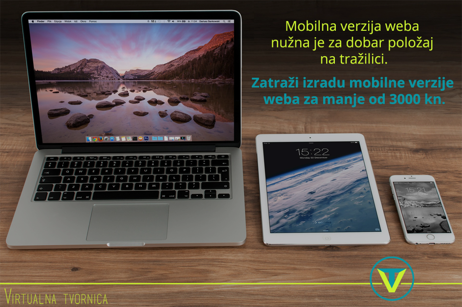 mobilne webstranice