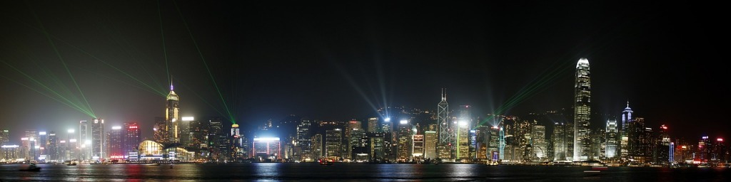 landscape prikaz hong konga grada